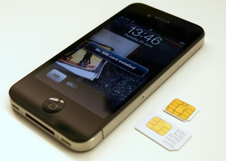 iphone сим карта не установлена